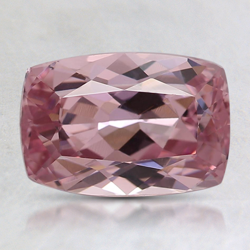 8.6x5.9mm Peach Cushion Garnet