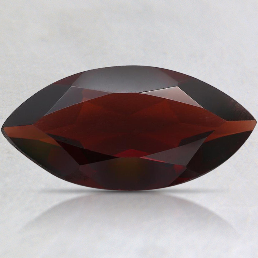 16x8.1mm Red Marquise Pyrope Garnet