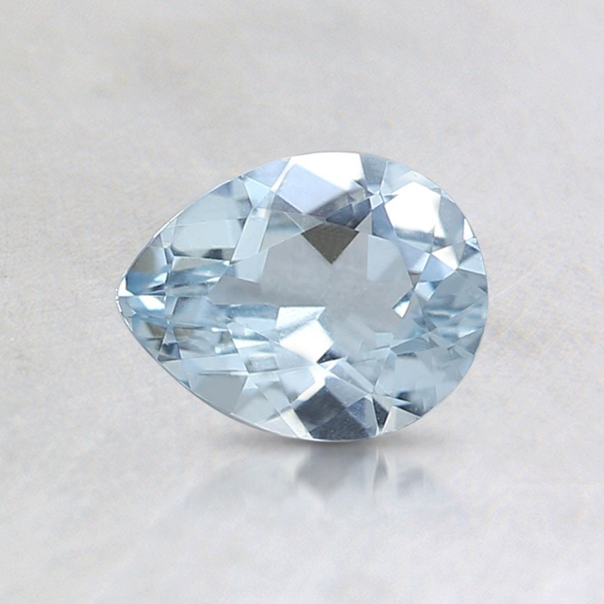 6.3x5mm Pear Aquamarine