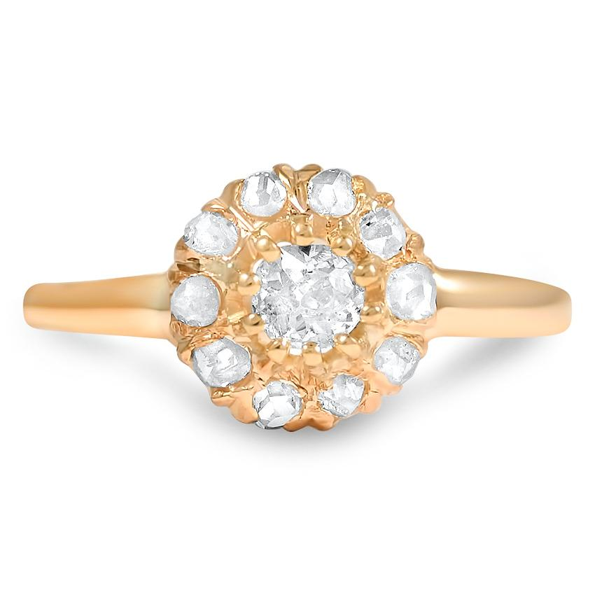 The Claris Ring, top view