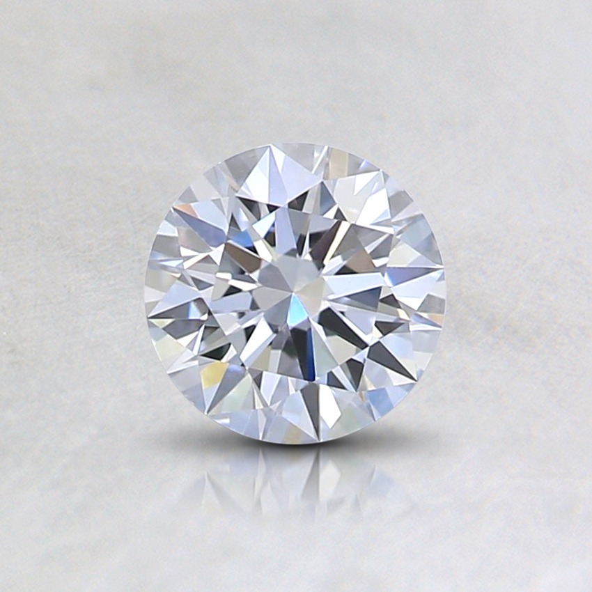 0.50 Ct. Light Blue Round Lab Created Diamond