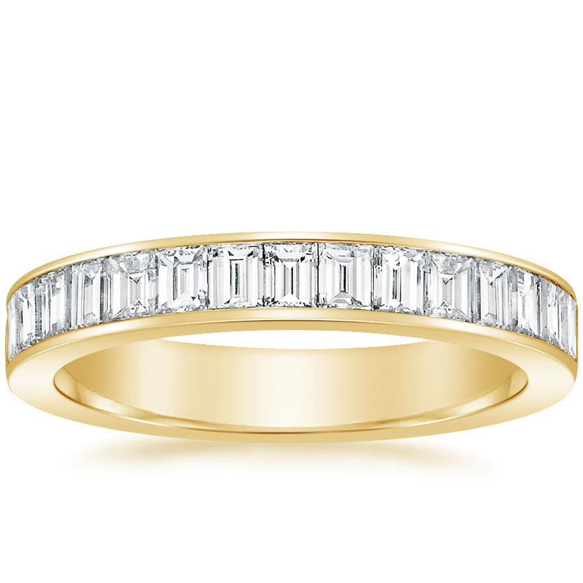 Yellow Gold Channel Set Baguette Diamond Ring (1 ct. tw.)