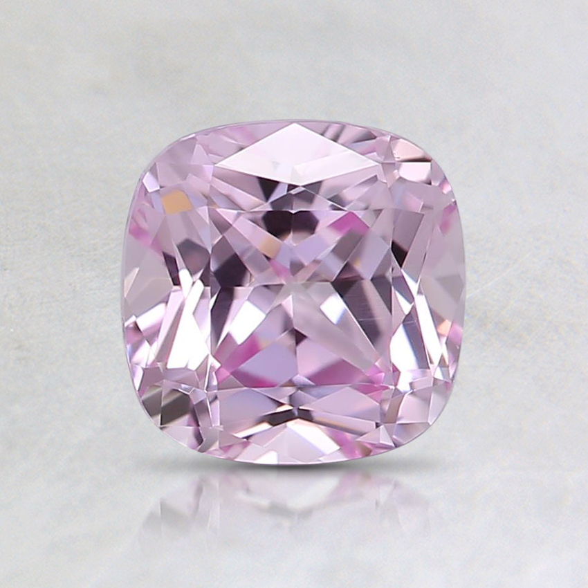 6mm Light Pink Cushion Lab Created Sapphire