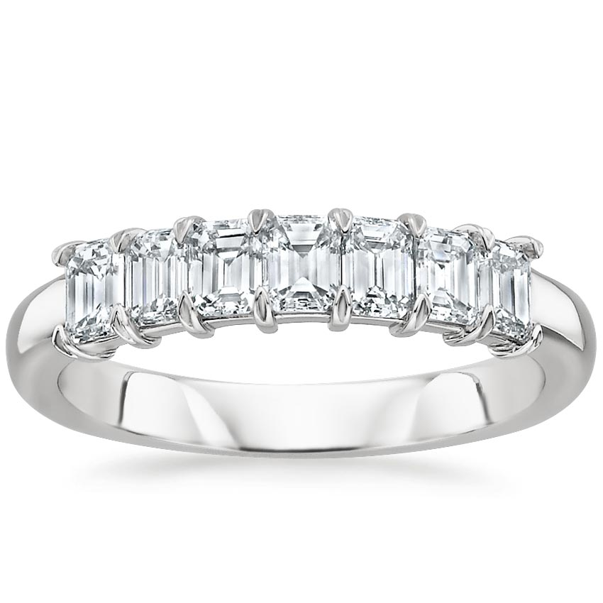 emerald cut wedding ring - Emerald Cut Wedding Ring