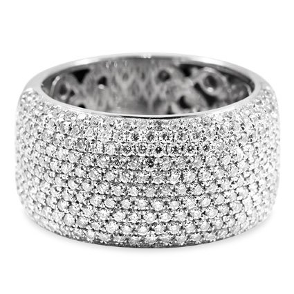 Modern Diamond Cocktail Ring