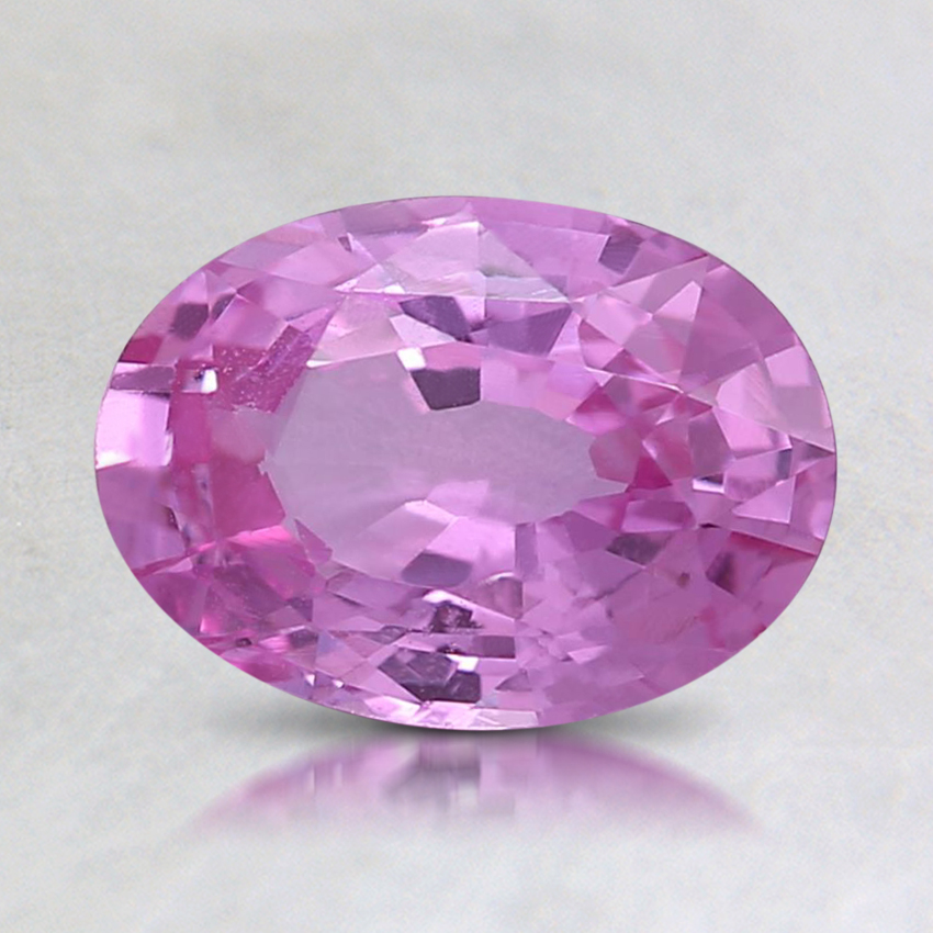 8.1x5.8mm Pink Oval Sapphire