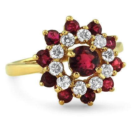 The Valeria Ring, top view
