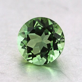 6mm Seafoam Green Round Tourmaline