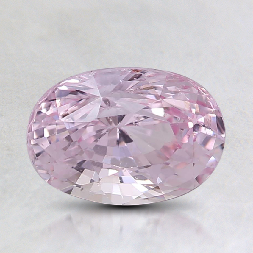 7.9x5.6mm Unheated Pink Oval Sapphire