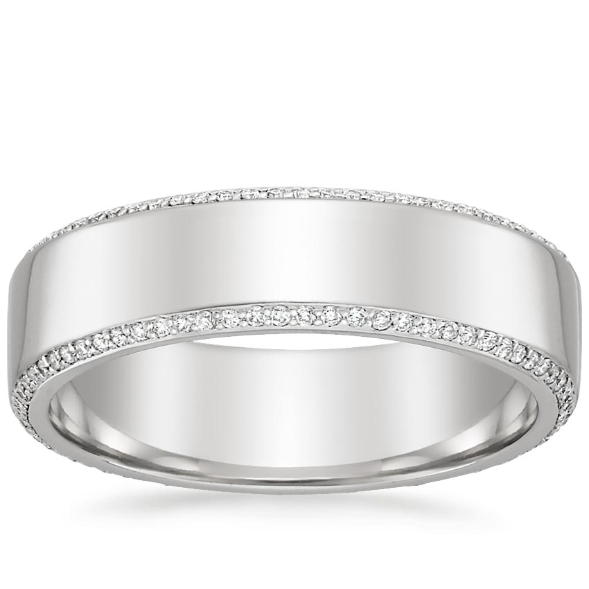 Top Twenty Men's Wedding Rings - AVALON ETERNITY DIAMOND WEDDING RING (2/5 CT. TW.)