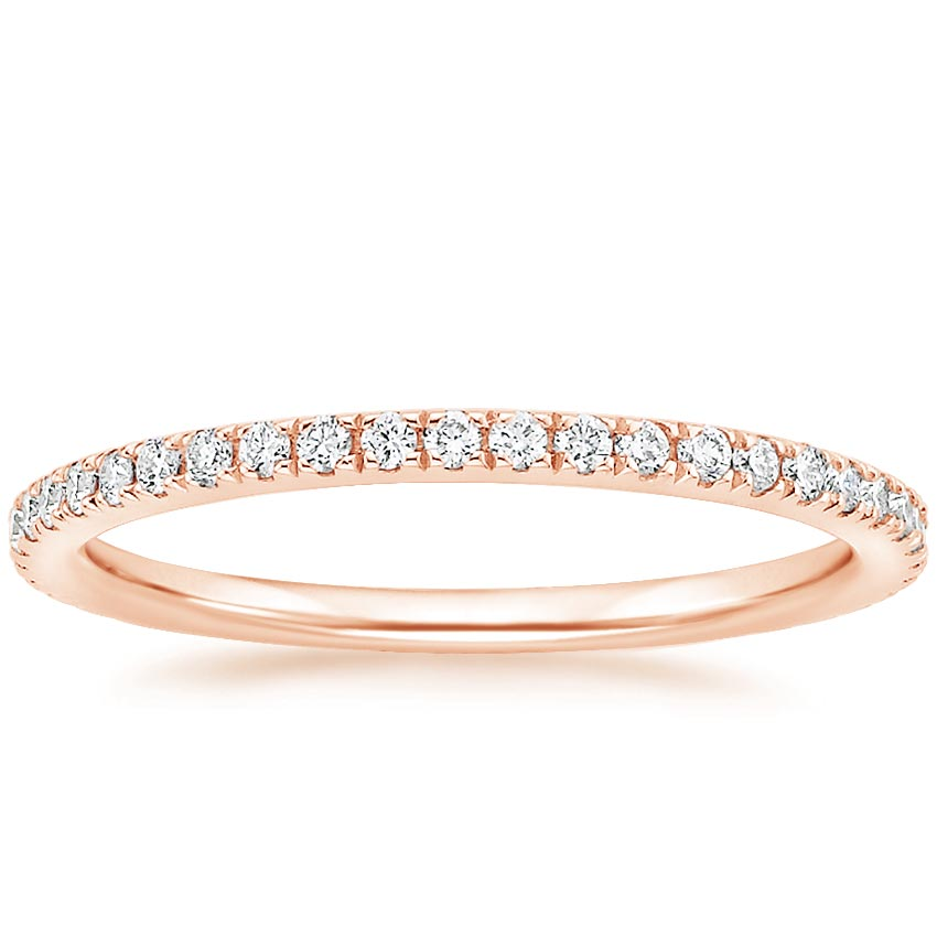 Rose Gold Luxe Ballad Diamond Ring (1/4 ct. tw.)