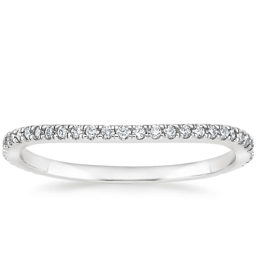 Fortuna Contoured Wedding Ring