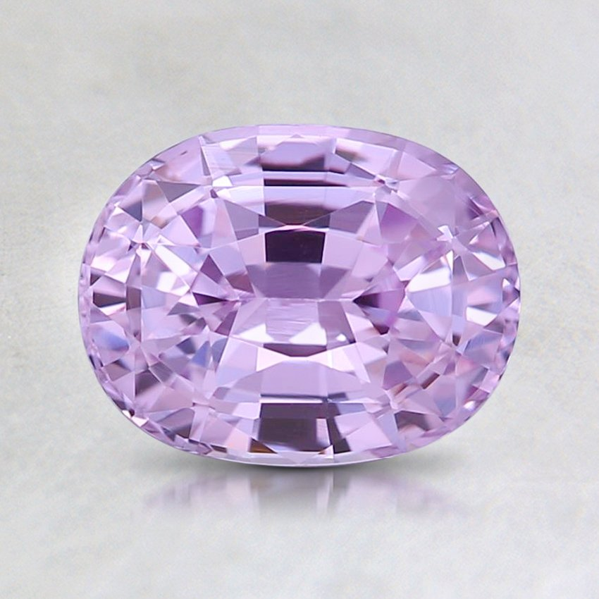 7.6x5.9mm Lavender Oval Sapphire