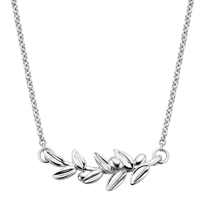 Top Twenty Valentine's Gifts - SILVER FAIRMINED OLIVE BRANCH PENDANT