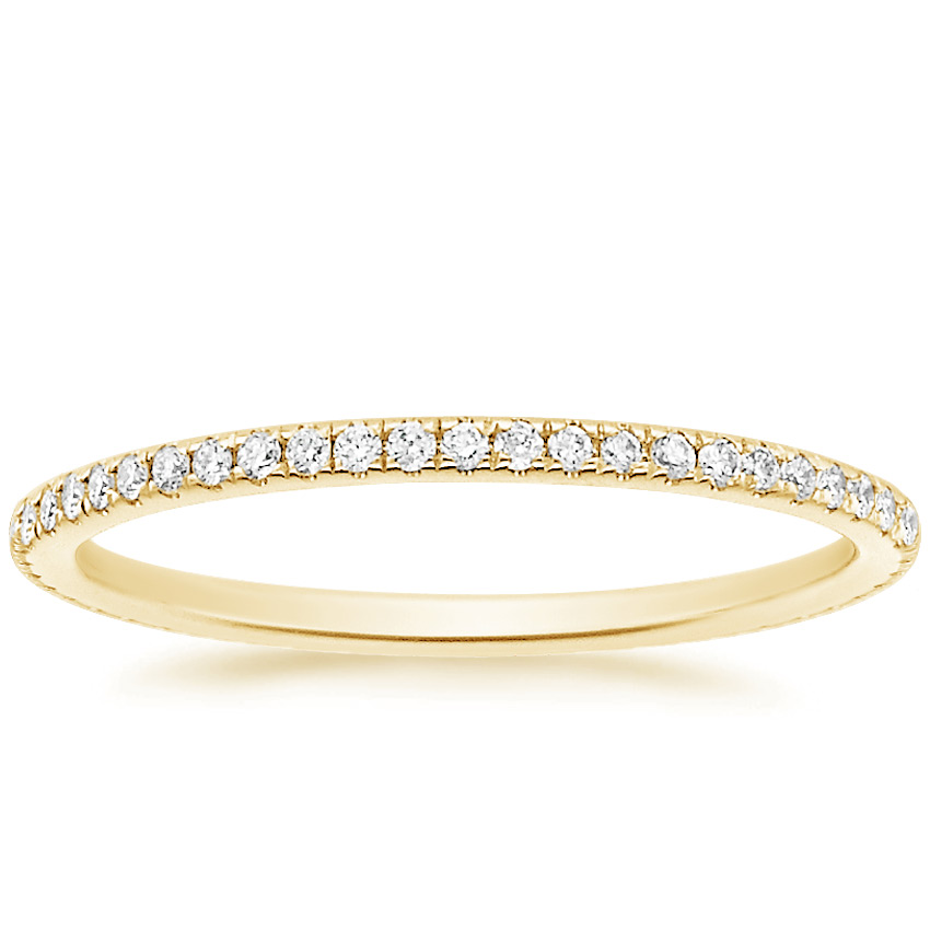 Yellow Gold Whisper Eternity Diamond Ring (1/4 ct. tw.)