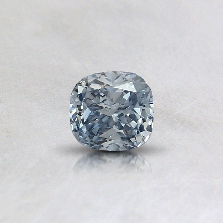 0.31 Ct. Light Blue Cushion Lab Created Diamond