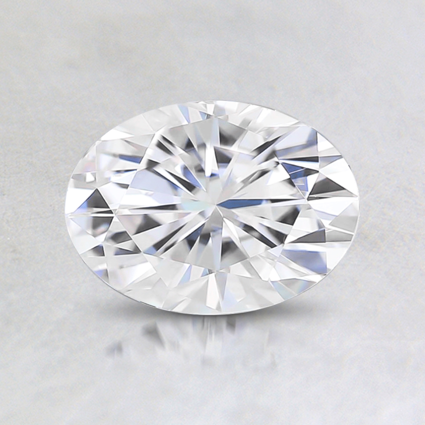 7x5mm Super Premium Oval Moissanite