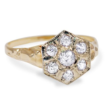 The Ornella Ring, top view
