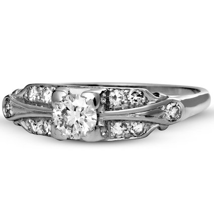 The Rhapsody Ring, top view
