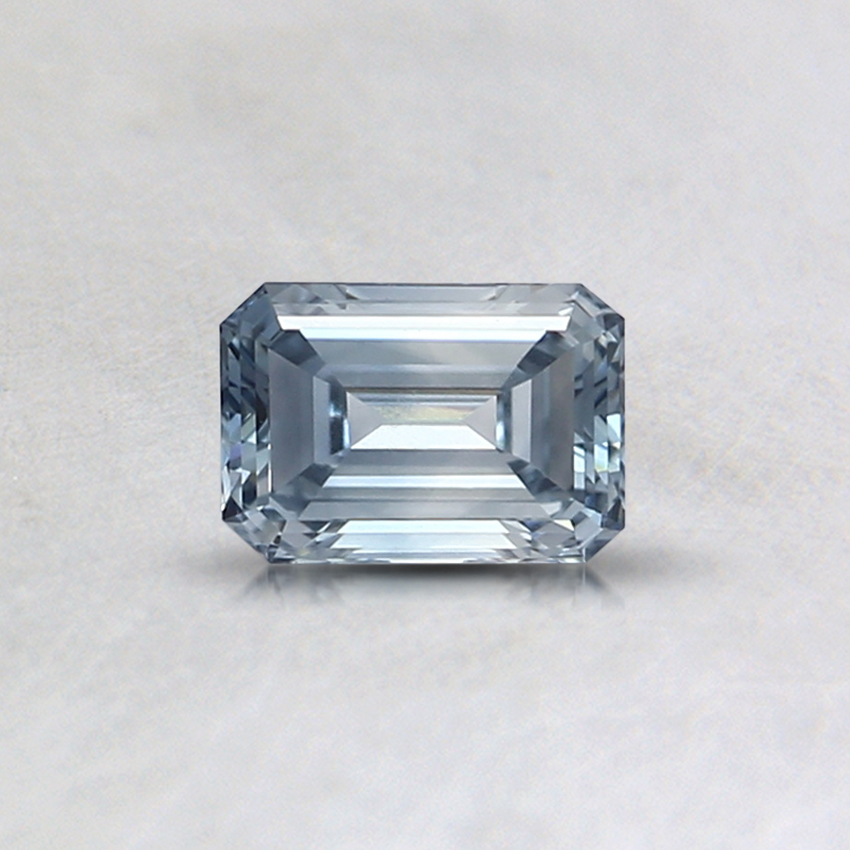 0.37 Ct. Light Blue Emerald Lab Created Diamond