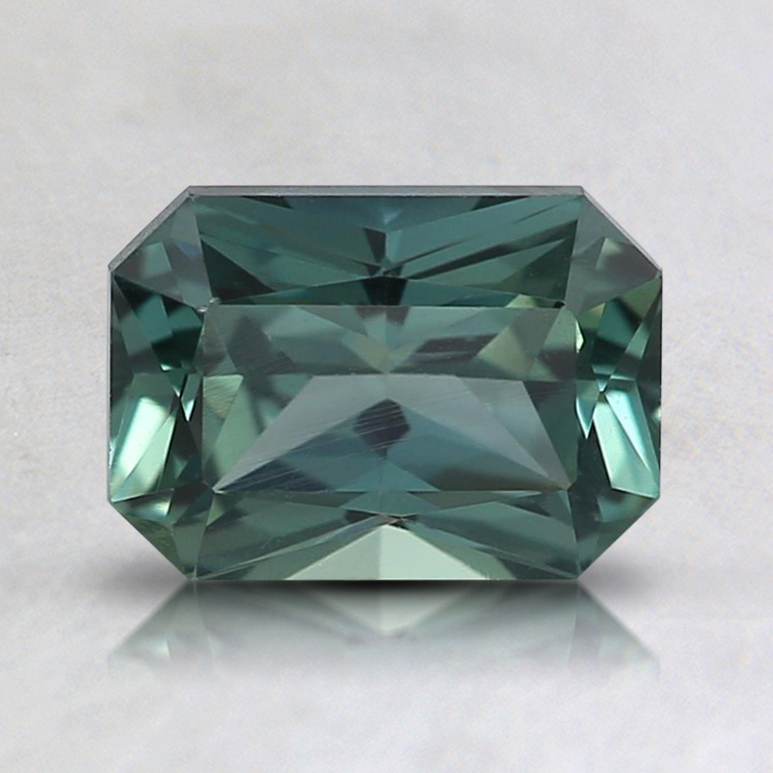 7.2x5.1mm Teal Radiant Montana Sapphire