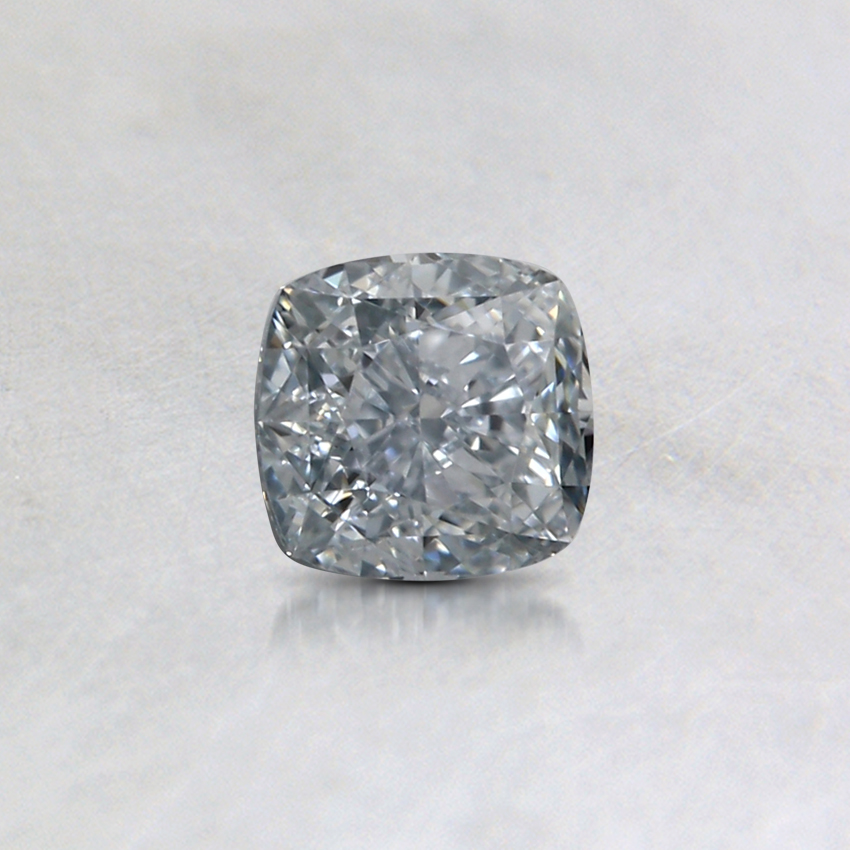 0.31 Ct. Fancy Blue Cushion Colored Diamond