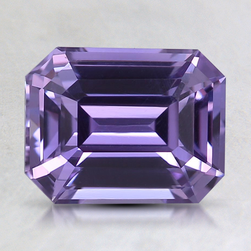 8.2x6.4mm Unheated Purple Emerald Sapphire