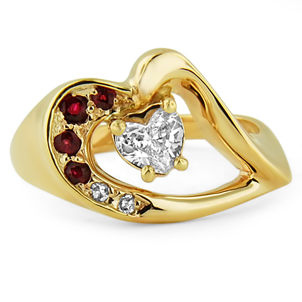 The Mimi Ring, top view