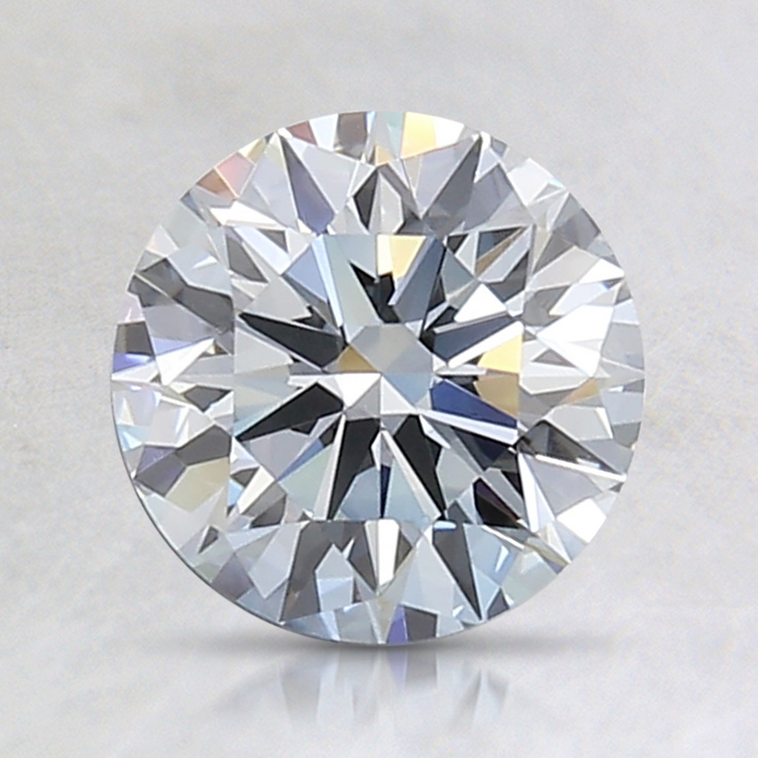 1.39 Ct. Fancy Light Blue Round Lab Created Diamond