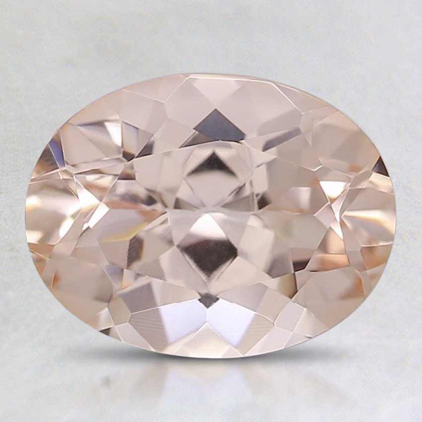 9x7mm Peach Oval Morganite