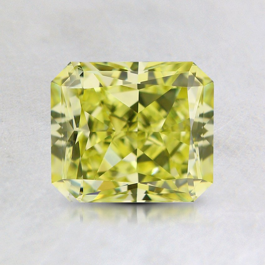 1.27 Ct. Natural Fancy Yellow Radiant Diamond