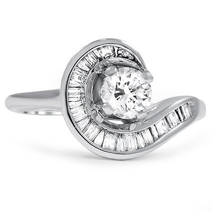 The Ouray Ring, top view