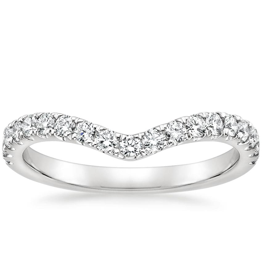 Luxe Flair Diamond Ring (1/3 ct. tw.) in 18K White Gold