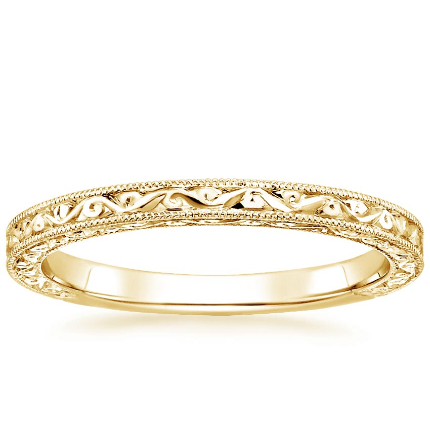Yellow Gold Hudson Ring
