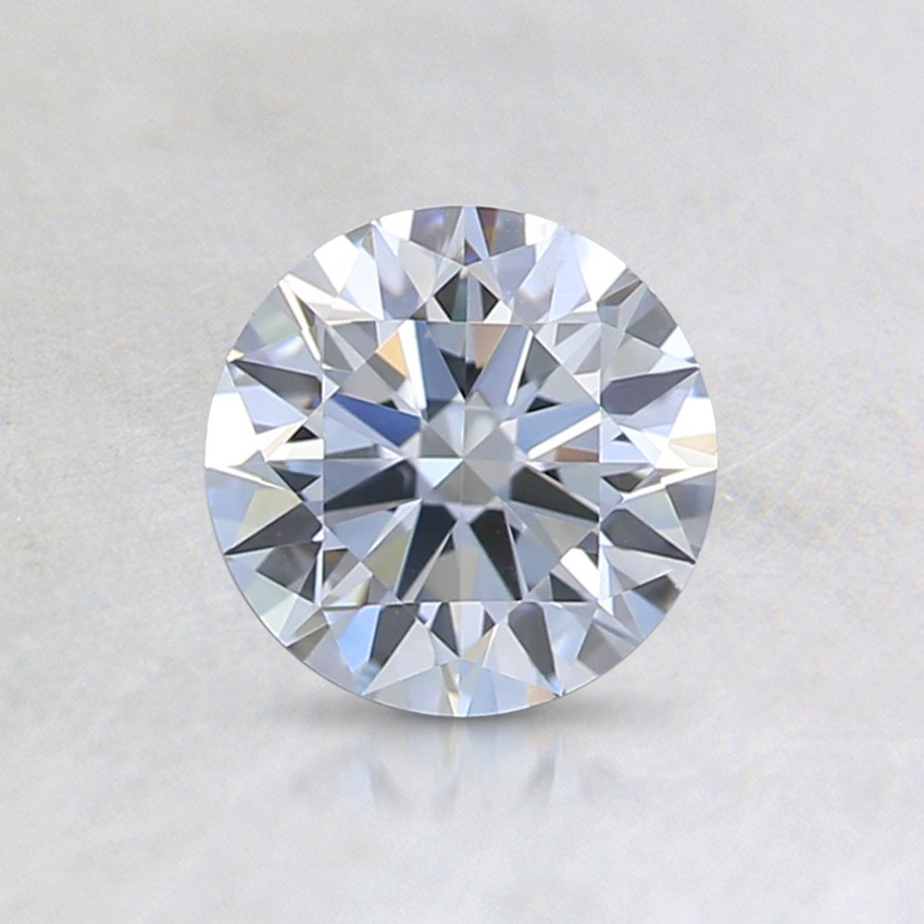 0.70 Ct. Fancy Light Blue Round Lab Created Diamond