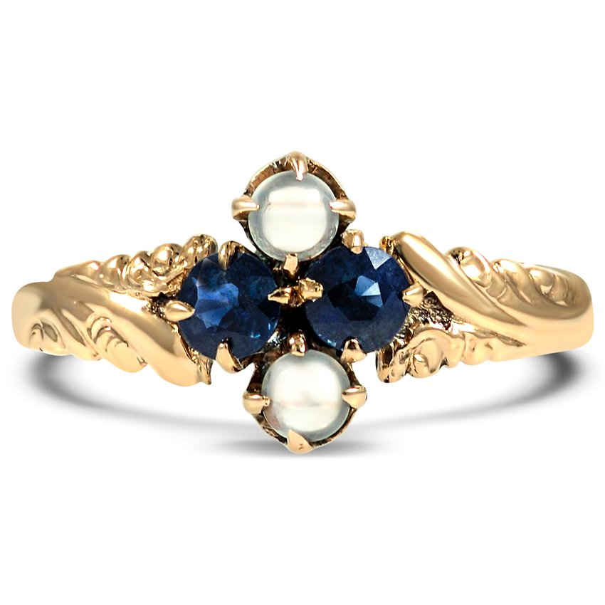 The Tybalt Ring, top view