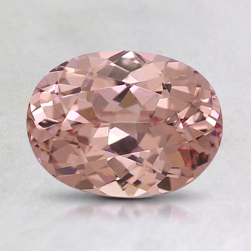 8x6mm Peach Oval Garnet