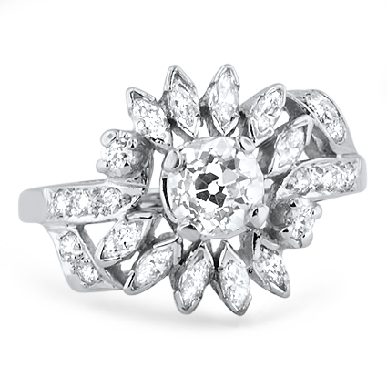 The Ellery Ring, top view