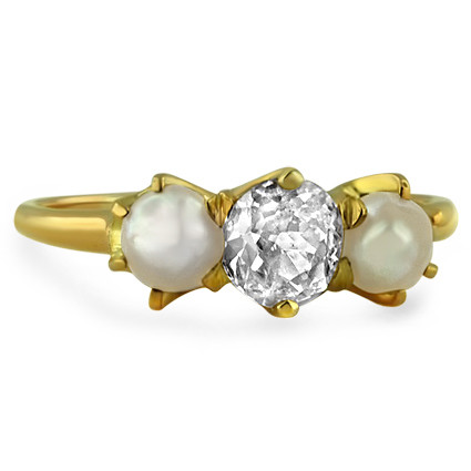 The Amalia Ring, top view