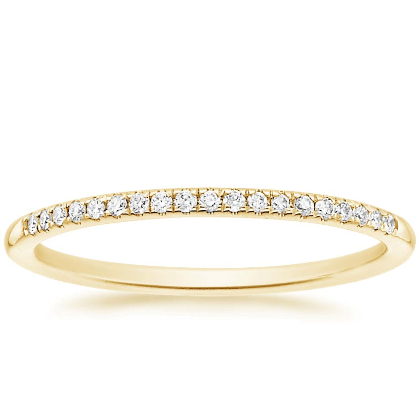 Yellow Gold Whisper Diamond Ring (1/10 ct. tw.)