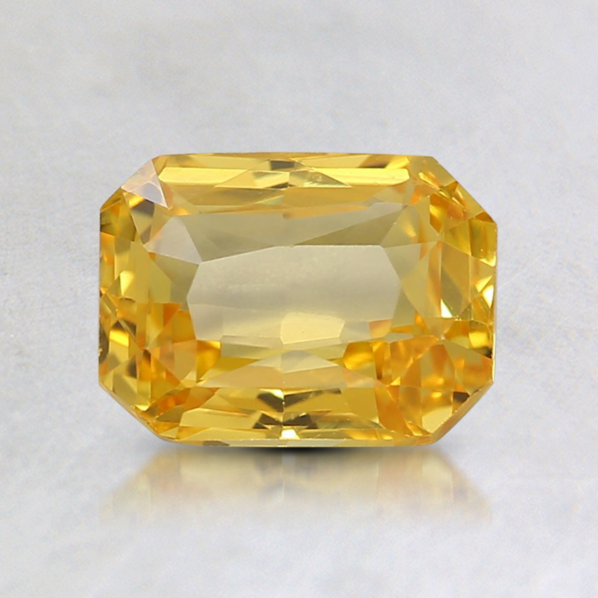 6.7x5.9mm Yellow Radiant Sapphire