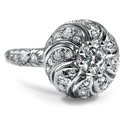 The Maharaja Ring, top view