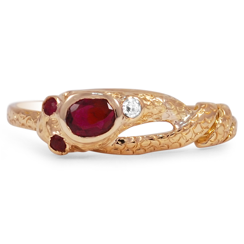 The Margaretha Ring, top view