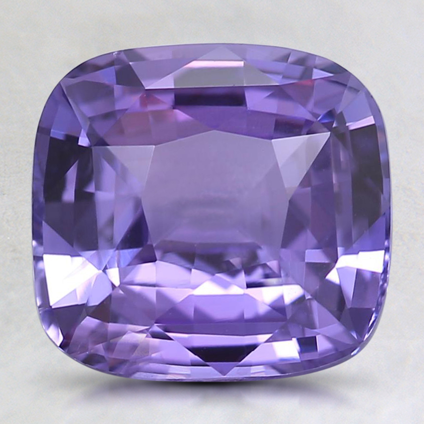 8.7x8.2mm Premium Purple Cushion Sapphire