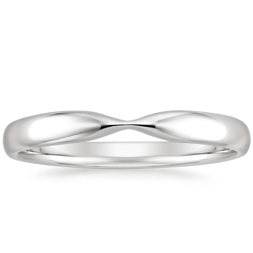 2.5mm Tapered Comfort Fit Wedding Ring