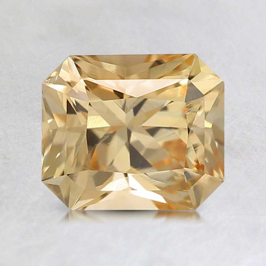 7x6mm Yellow Radiant Sapphire