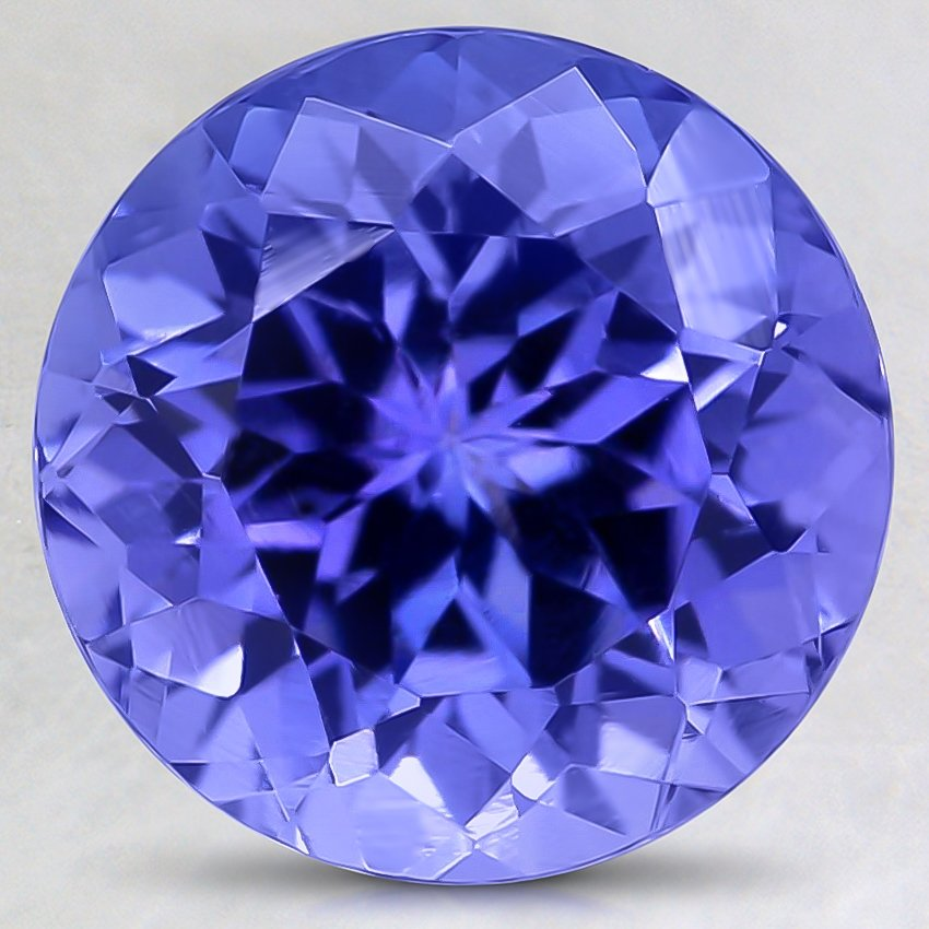9.5mm Premium Purple Round Tanzanite