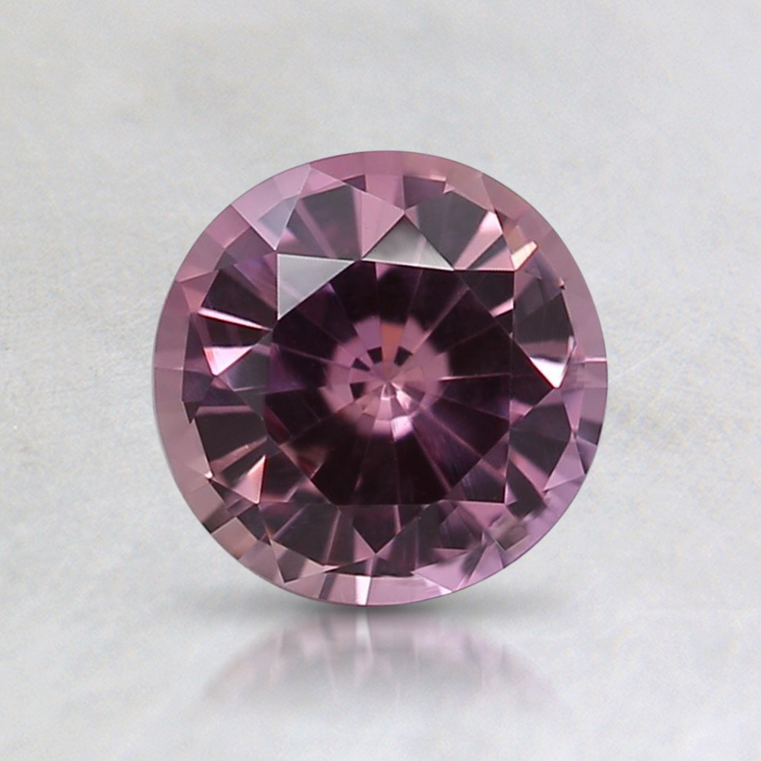 6.1mm Unheated Pink Round Sapphire