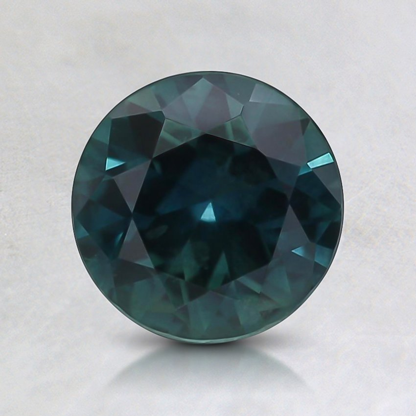 6.8mm Montana Teal Round Sapphire