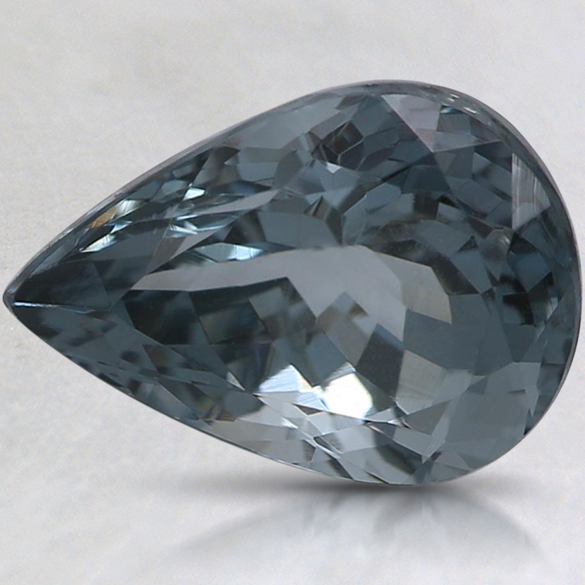 11x7.9mm Gray Pear Spinel